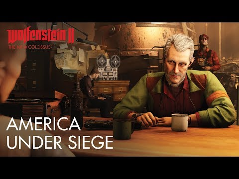 Wolfenstein II: The New Colossus – America Under Siege