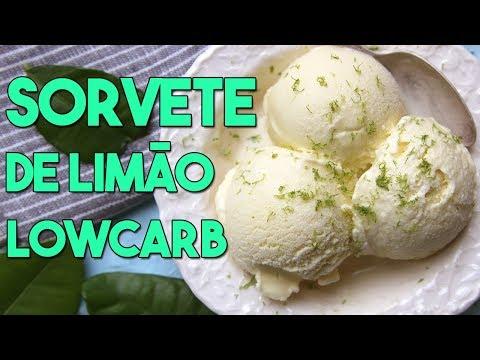 Sorvete de Limão LowCarb  e Sem Açúcar #65
