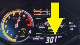 Lamborghini Huracán Performante 0 - 300 km/h!