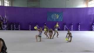 Групповые упражнения 30 (мяч) ФСТ