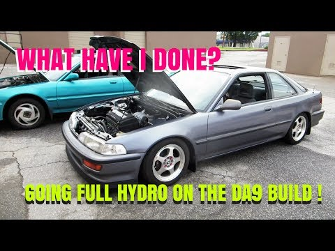 BUILDING THE DA9 -HUSH HYDRO INSTALL- HSG EP. 5-34