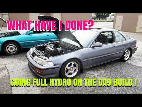 BUILDING THE DA9 -HUSH HYDRO INSTALL- HSG EP. 5-34