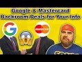 Google Buying Your Credit Card History   Banks Freezing Accounts