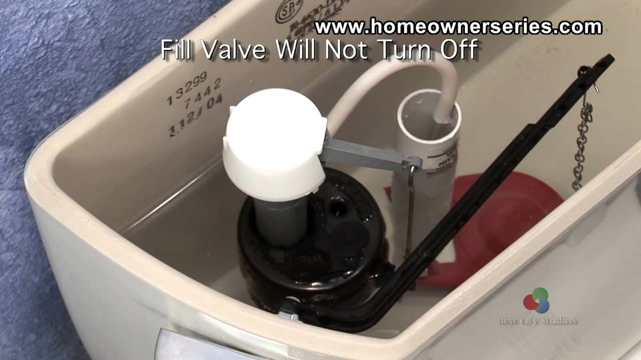 How To Fix A Toilet Diagnostics Fill Valve Youtube