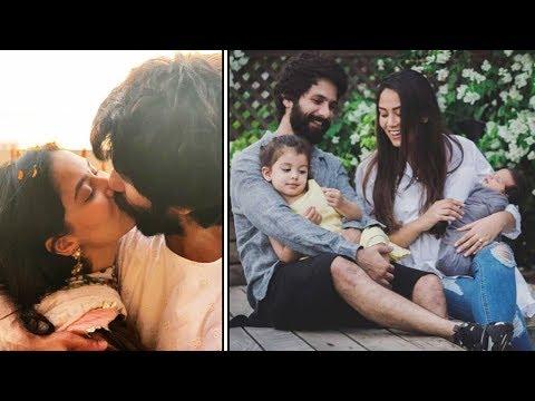 Shahid Kapoor CUTE MOMENTS With Kids Misha & Zain And Wife Mira Rajput Mp3