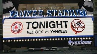 New York Yankees vs Boston Red Sox Starting Lineups 4/04/2013