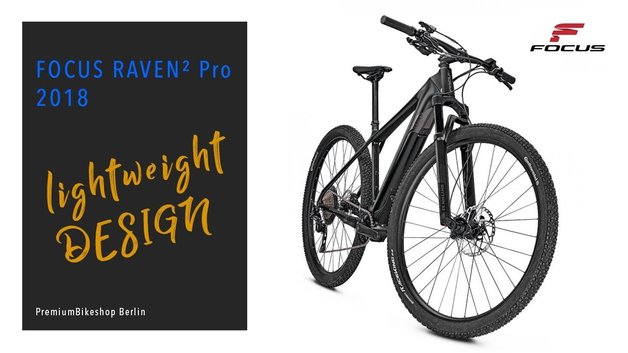 8342d5b3987 Focus Raven 2 Pro 2018 I E-Bike - YouTube