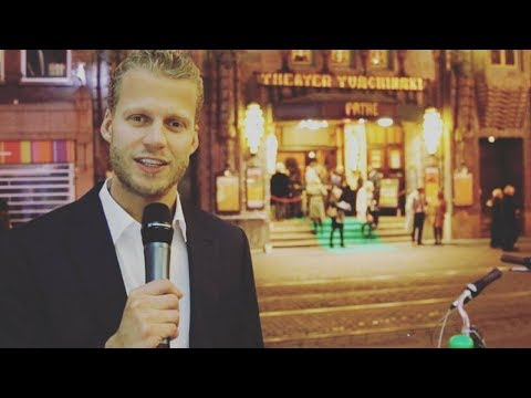 Jacob Gelt Dekker - De première van Silent Land in het Tuschinski theater.