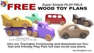 Wood Toy Plans - 5 FREE PATTERNS