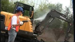 Volvo Compact Excavators EC55C Presentation