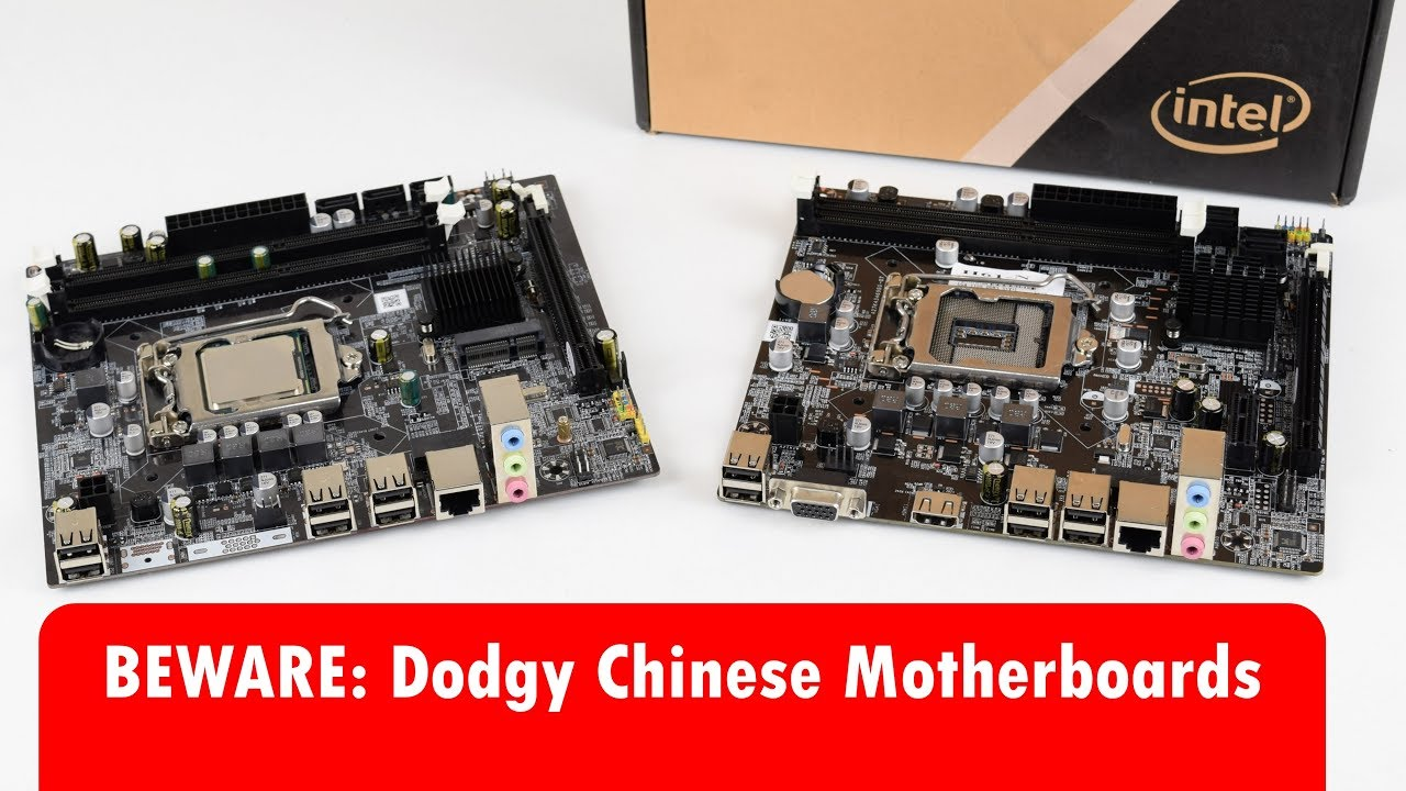 Cheap 1155 and 1156 Motherboards from China – Are they worth it?