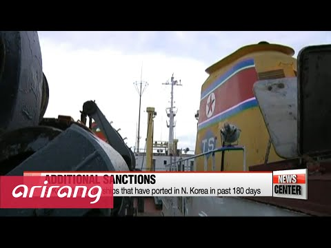 S. Korea slaps strong financial, maritime sanctions on N. Korea