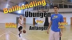 Ballhandling Übungen für Anfänger von MrMike und Basketball Profi!