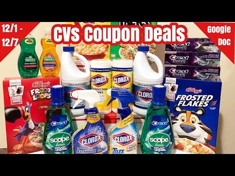 CVS Coupon Deals & Haul | 12/1 – 12/7 | I Paid $7 for Everything 🙌🏽