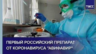 Первый российский препарат от коронавируса Авифавир
