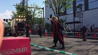 百鬼桜 まるがめ婆娑羅まつり2017 大手門西会場