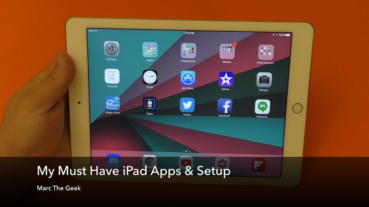 how to add and remove apps on my ipad