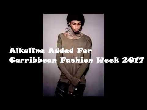 Alkaline Set To Model His Urban Wear At Caribbean Fashon Week (CFW) 2017