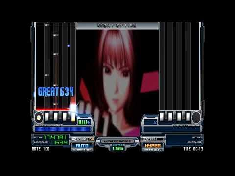 NIKO - NIGHT OF FIRE, 155BPM (Genre, Super EuroBeat   ^^ IIDX6) 【BMS】