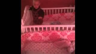 Twins Crib Jumping
