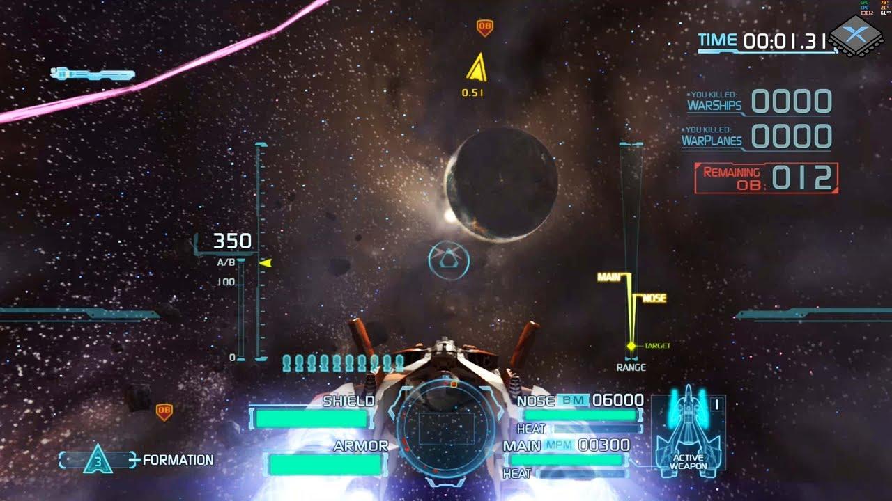 Xenia Xbox 360 Emulator - Project Sylpheed Ingame / Gameplay! (088b1c21)