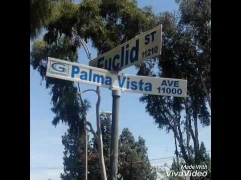 PALMA VISTA ST GANG 13 GARDEN GROVE EAST SIDE TO WEST