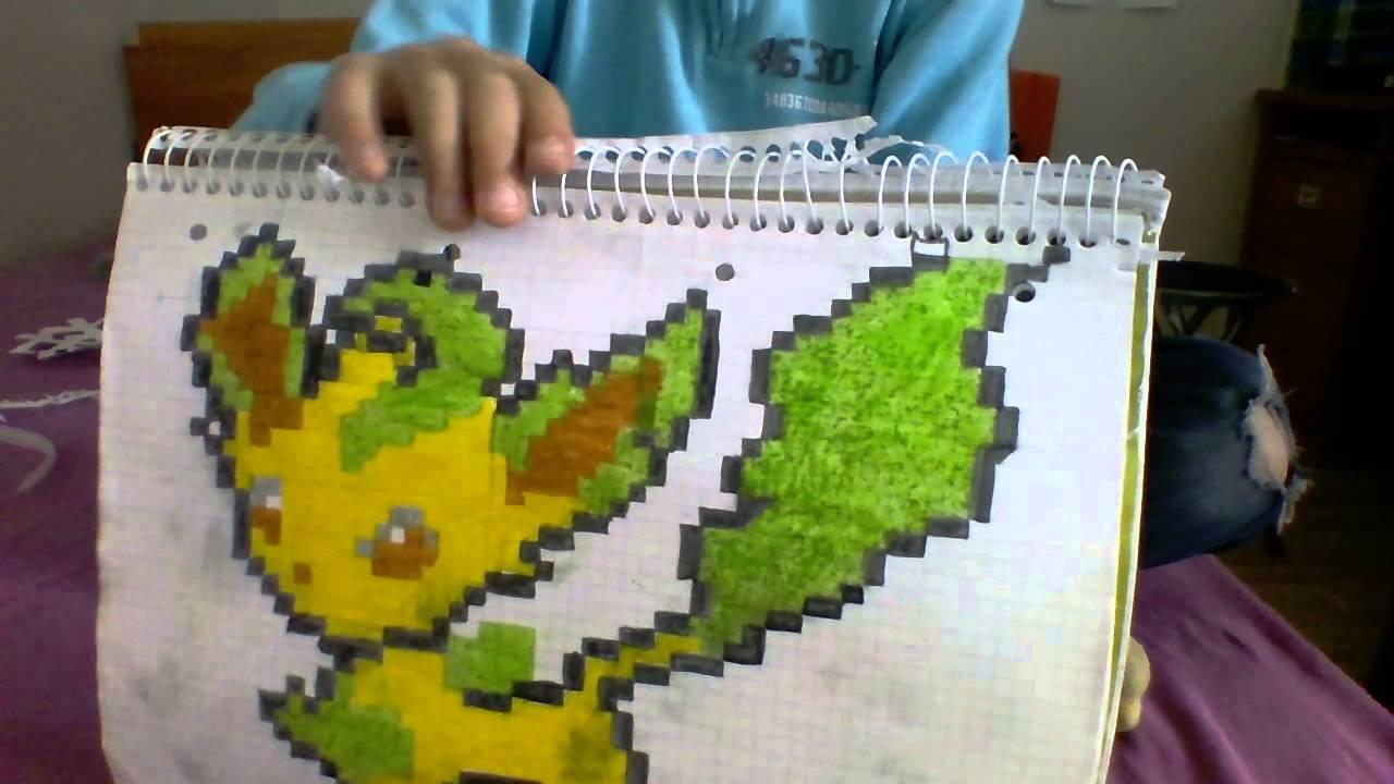 Presentation De Mes Dessins Pixel Arte Youtube