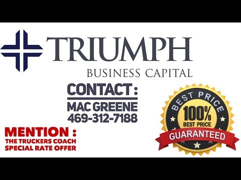Invoice/ Freight Factoring  : Triumph Business Capital  will match or beat all competitors offers