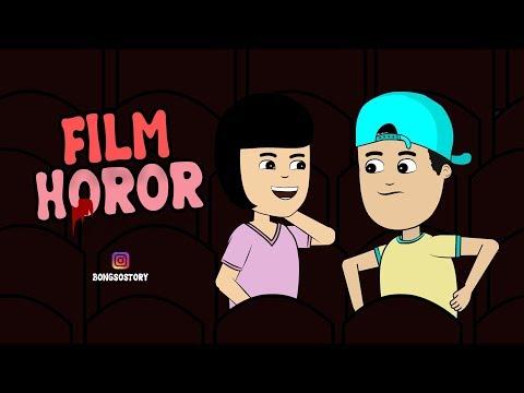kartun-lucu-ada-hantu-di-bioskop- -bongso-story- -animasi-indonesia-timur