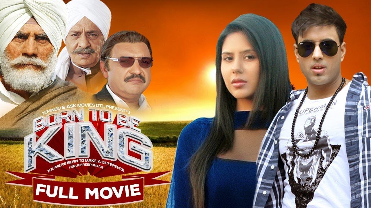 Born To Be King | Latest Punjabi Movies | Sonam Bajwa, Ateesh Randev, Puneet Issar | Yellow Movies