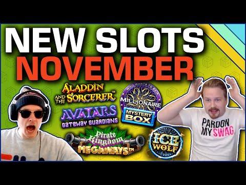 Best New Slots Of November 2019