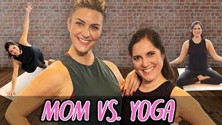 Yoga Mom is Surprised When She Has to Teach the Class | Mom Vs | Well Done