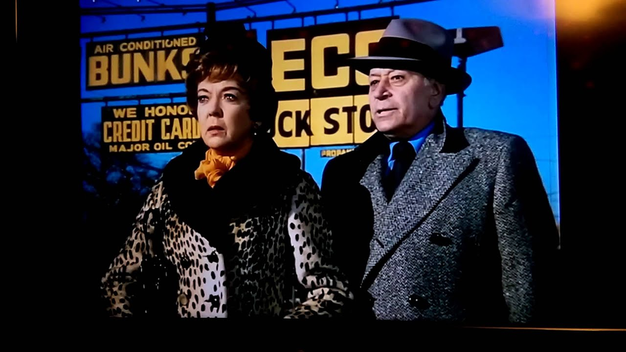 Ida Lupino and George Raft cameo in Deadhead Miles 1973