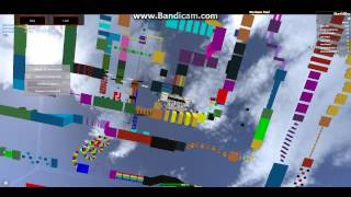 Ike plays Wipeout in Roblox! part 1 WHY U NO TOUCH CHECKPOINT????