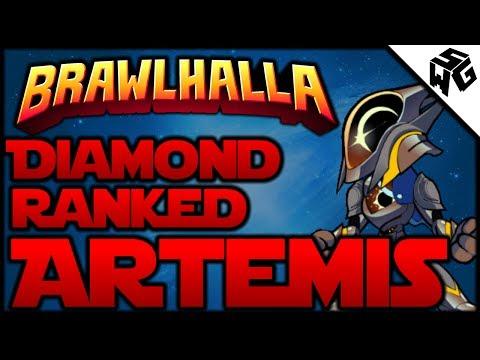 Diamond Ranked Artemis 1v1's - Brawlhalla Gameplay :: Amazing Unarmed Player!