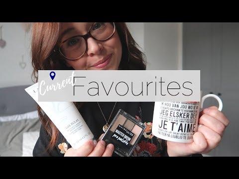 Current Favourites, Beauty, Homeware & Clothes