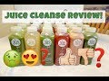 Juice Cleanse!  Unboxing & My Experience!