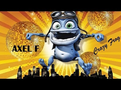 Axel F   Crazy Frog  (Version Remix) HD