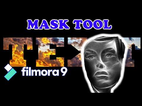 Filmora 9 Masking Tools Tutorial For Beginners