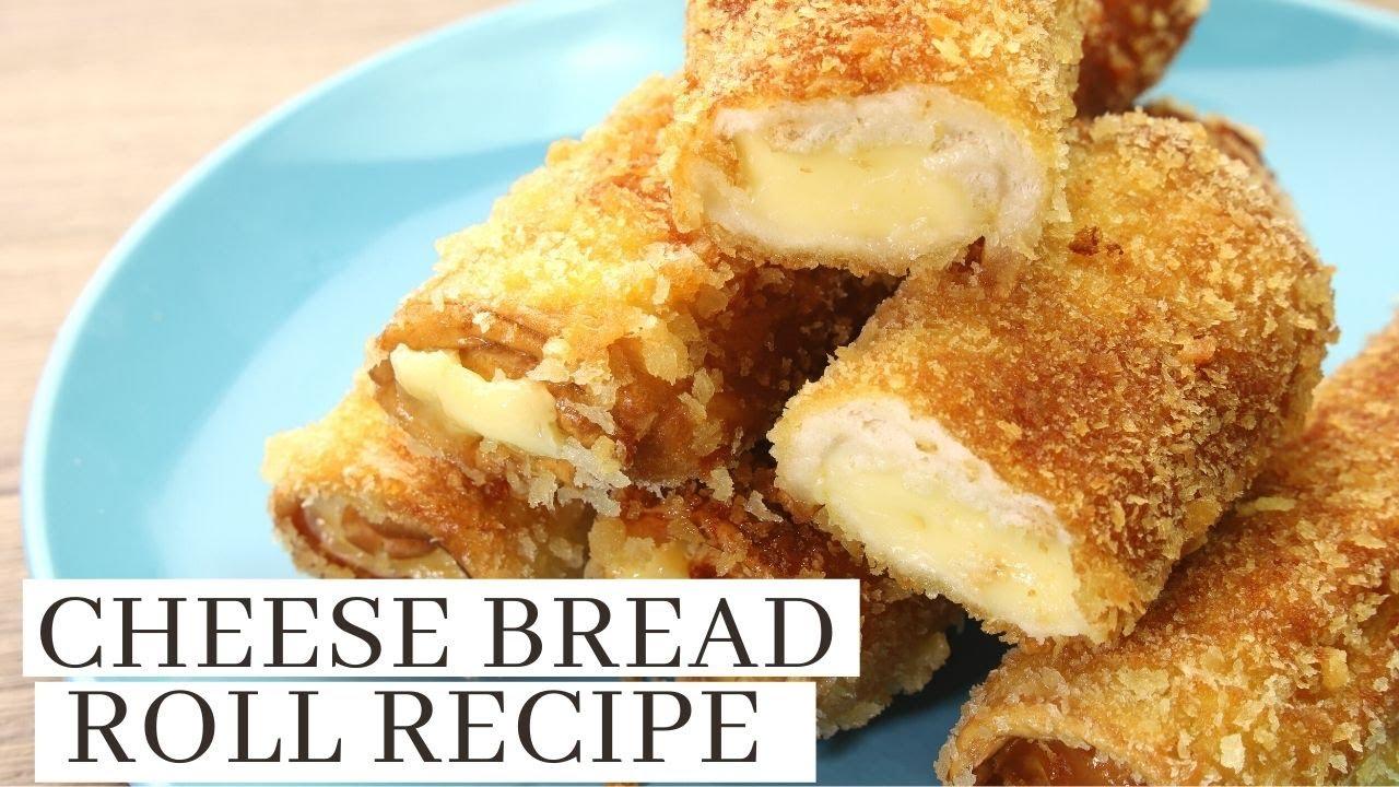 Breaded Cheese Roll ( Easy To Make Merienda Recipe )