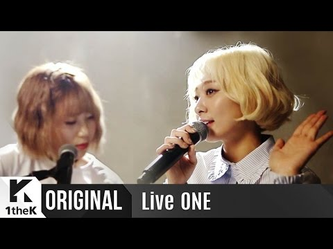 Live ONE(라이브원): Bolppalgan Puberty(볼빨간사춘기)_The First Live Performance!_Tell me you love me(좋다고 말해)