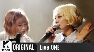 Live ONE(라이브원): Bolppalgan Puberty(볼빨간사춘기)_The First Live Performance!_Tell me you love me(좋다고 말해)