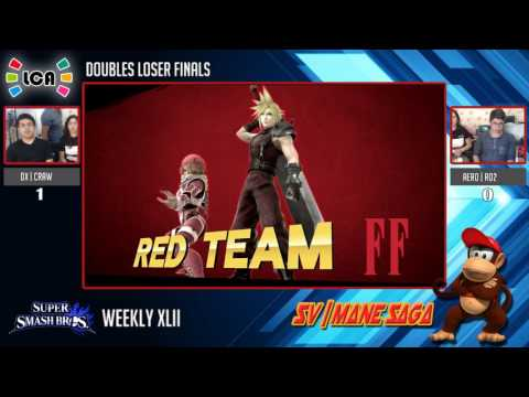 LCA: Weekly 42 Dobles - LCA|Dx & TMX|Craw vs TMX|Aero & Ro2 - Losers Final