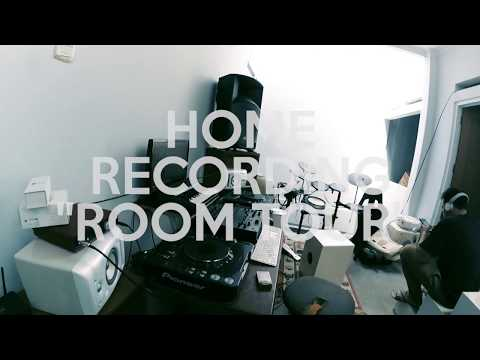 ROOM TOUR 2016 : HOME RECORDING STUDIO / INDONESIA