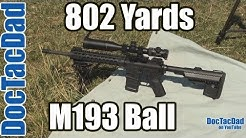Long Range - 802 Yards - M193 5.56x45 NATO - Project SPR