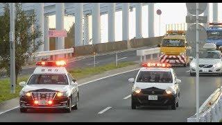 東京ゲートブリッジ完全封鎖!! 湾岸署クラウンパト先頭固定!! Tokyo Bayside Police station