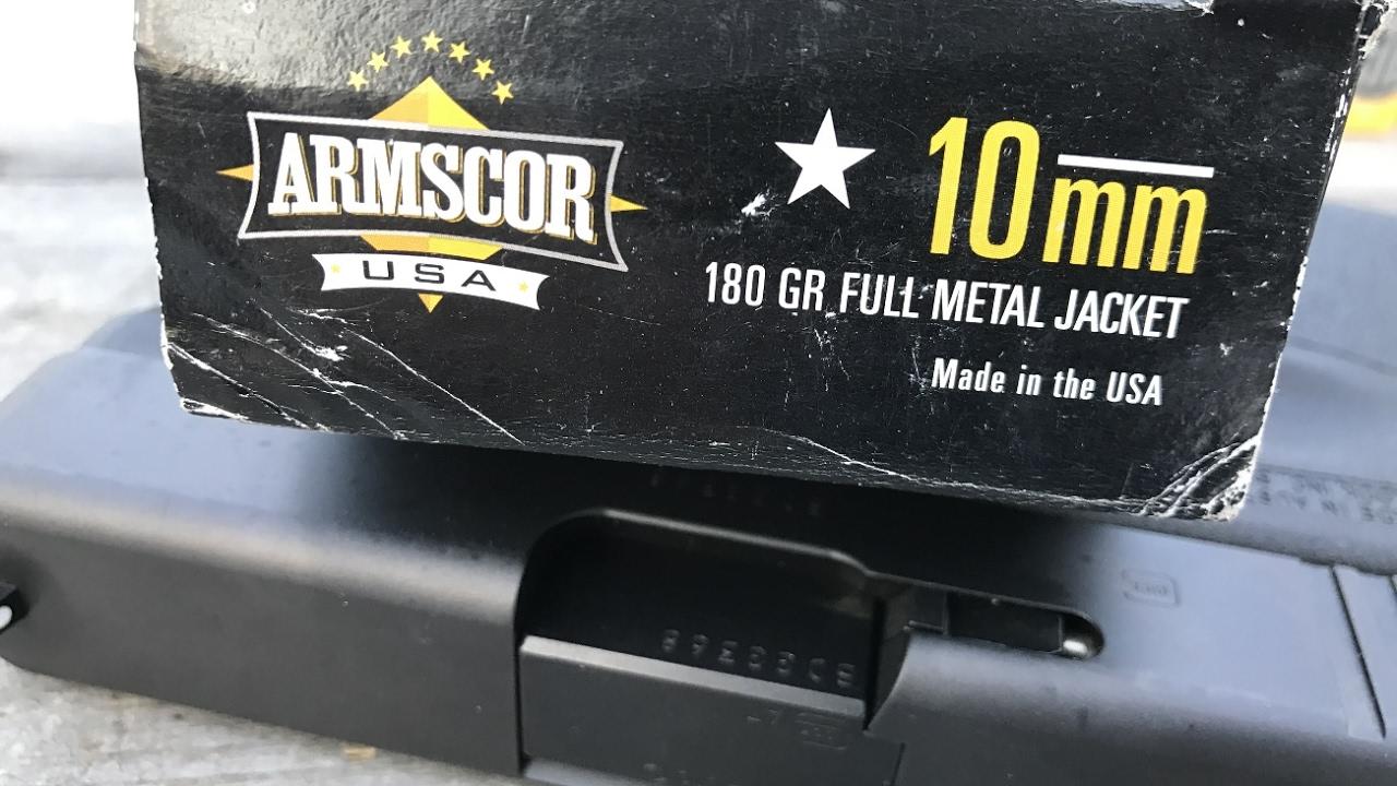Best 10mm Ammo of 2019: Practice Range & Self-Defense Rounds