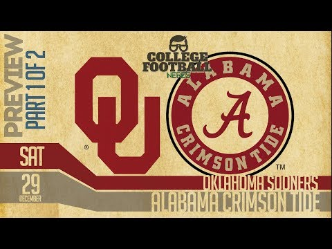 Alabama vs Oklahoma 2018 Part 1 of 2: College Football Playoffs Preview & Predictions