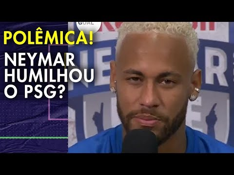 [Martins] PSG should bench Neymar for the remainder of his contract.