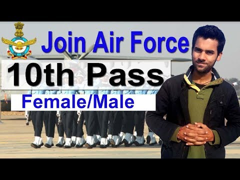 Indian Air Force New Job Vacancy 2018, 10th Pass latest Govt Job, Female Male